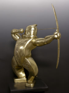 "Orion Polished Cast Bronze 26"" x 23"" x 27"" Limited Edition of 3"