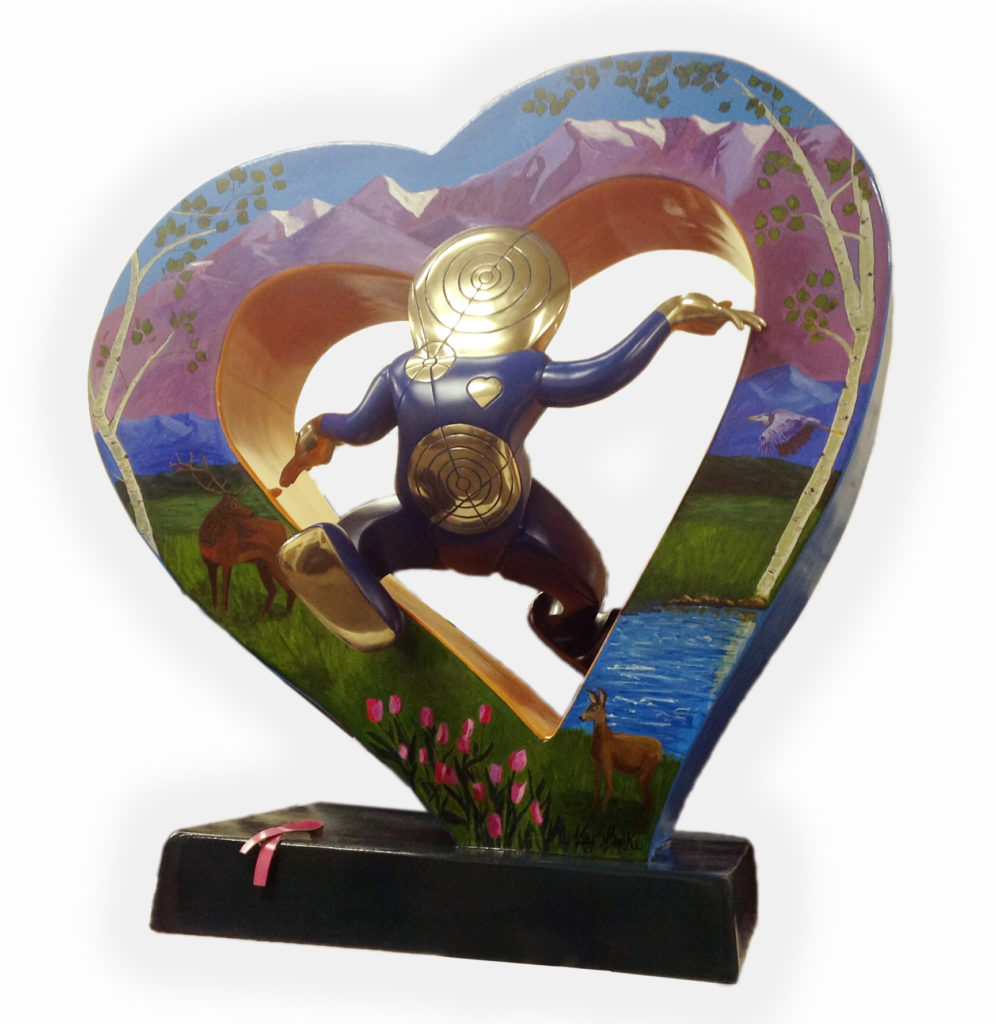 Lover's Leap, Cast Bronze Sculpture, Contemporary Sculpture